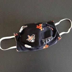 Fabric Face Mask University of Texas Longh…